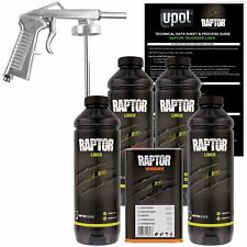 U-POL RAPTOR™ UP0820 Black Truck Bed Liner Kit + 1 Spray Gun