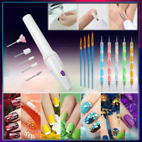 Electric Nail File Drill Machine Acrylics Pedicure Manicure Polish Tool Nail Art