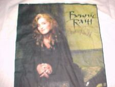 Brockum 1994 Bonnie Raitt Longing In Their Hearts Tour White T-shirt L Signed