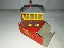 Vintage Tri-ang Railways R61 CARLISLE Signal Box in Original Box