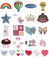 Iron On / Sew On Motif Applique - Kids Assorted Designs - Trimits