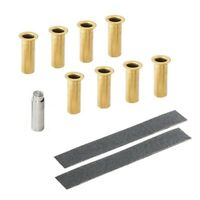 Gold Door Hinge Bushing Pin Liners Fit for Jeep Wrangler JKU 07-18 4 Door