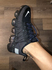 New listing Nike Air Vapormax Utility Black Reflect Silver Size 3.5 / 36.5 Excellent Cond