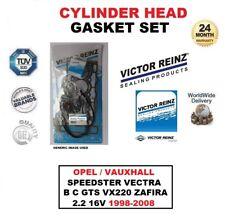 GUARNIZIONE DI TESTA SET per OPEL Vauxhall Speedster Vectra B C GTS VX220 ZAFIRA 2.2 16 V
