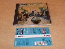 OASIS - DEFINITELY MAYBE - ESCA 6045 - JAPANESE CD!!!!!!!!!!!!!!!!