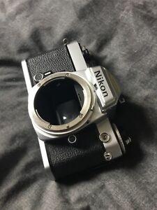 Nikon fe 35mm film camera