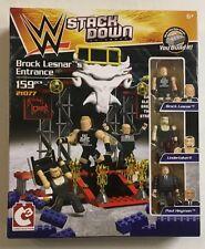 WWE Stack Down Universe Buiilding Set : Brock Lesnar's Enterance with Undertaker