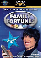 FAMILY FORTUNES 2- INTERACTIVE DVD GAME VERNON KAY New Sealed UK Rel R2