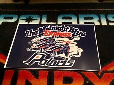 78 Polaris Rxl Sno-Pro Race Snowmobile Poster   vintage Midnight Blue Express