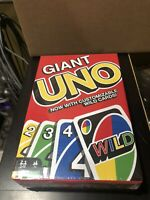 Mattel Giant Uno Cards - Jumbo Huge Extra Large XL King Sized Party Gift Game