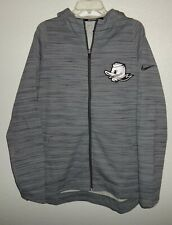 NEW MENS XL NIKE DRI-FIT OREGON DUCKS TEAM ISSUED BASKETBALL HOODIE SWEATSHIRT