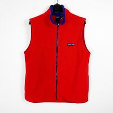 Patagonia Youth Boys Red Fleece Vest Jacket Size Large 12