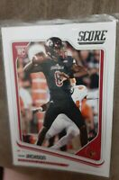 2018 Pinini Score Football LAMAR JACKSON ROOKIE CARD #352 LOUISVILLE RC RAVENS