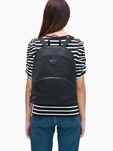 * TEST Karissa Black Extra Large Nylon Backpack WKRU6597 NWT $349 Retail FS