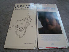 Donovan Lot 2 CD Long Box Only No Disc The Classics Live & Greatest Hits