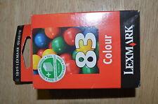 1 Original Lexmark Tintenpatrone Colour 83