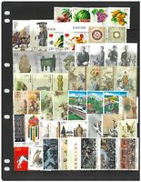 China Pack of 100 Different Stamps All Large In Complete Sets Mint Unhinged