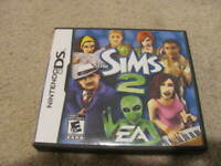The Sims 2 (Nintendo DS, 2005) Complete with Manual Nice SHAPE