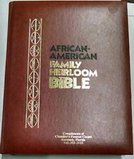 African American Family Heirloom Bible Vintage KJV OLD AND NEW TESTAMENTS. 1985