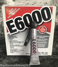 E6000 Glue Industrial Strength for Rhinestones Crystals Jewellery & Beads 5.3ml
