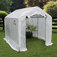 "ShelterLogic GrowIT Backyard Greenhouse W/Integrated Shelving 6' x 8' x 6' 6"""