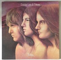 EMERSON LAKE & PALMER Trilogy UK Vinyl LP EXCELLENT CONDITION Pink Rim