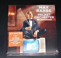 MAX RAABE & PALAST ORCHESTER MTV UNPLUGGED DELUXE EDITION DOPPEL DIGIPAK CD NEU