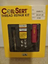 M12-1.25 Coil-Sert Thread Repair Kit Ik405-12 (no drill) M12-1.25 x 18.0 12 Inse