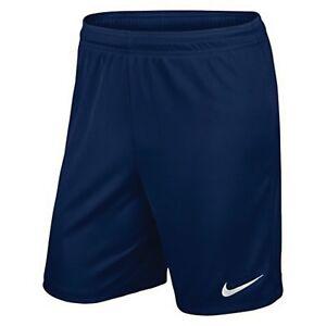 Nike Mens Park Knit Shorts Dri Fit Gym Running Training Sports Summer Navy