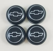 4/SET BLACK BOLT COVER + CHEVROLET DECAL LICENSE PLATE FRAME SCREW CAP CAR