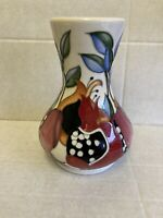 "Moorcroft ""Bejewelled"" Vase 192/7 By Emma Bossons RRP £340 Limited Ed. 7 of 30"
