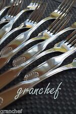 Dinner Forks ~ 6 Piece Set ~ Shell Pattern ~ Heavy Weight Stainless Steel ~ New