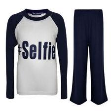 Abbigliamento blu per bambini dai 2 ai 16 anni Materiale 100 % Cotone Taglia 11-12 anni