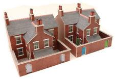 N Scale Metcalfe Red Brick Terraced Houses - PN103