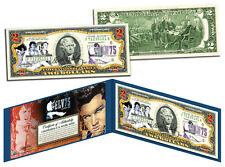 ELVIS PRESLEY * 75th Birthday * Colorized U.S. $2 Bill Legal Tender * LICENSED *