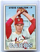 1967 TOPPS BASEBALL #146 STEVE CARLTON, ST. LOUIS CARDINALS, HOF, 110214