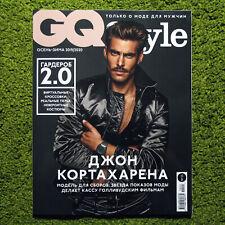 Jon Kortajarena GQ Style Fall-Winter 2019/20 Russian magazine Mitchell Slaggert