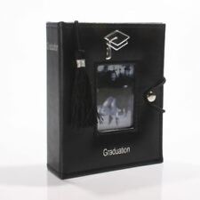 Black Graduation Photo Picture Album with Tassel 77842