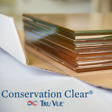 "10 Pieces 8"" x 10"" Tru Vue Conservation Clear Picture Frame Glass (10810CC)"