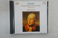 Haydn - String Quartets Op.20, Kodaly Quartet, Naxos Disc, CD (Box 55)
