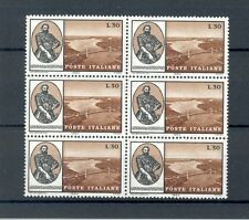 Italy 1964 Verrazzano (Verrazano), SG 1123, block of 6, MNH, lovely condition.