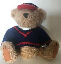 Pickford Brass Button Bear  Tully  Plush 9 inch Teddy Bear
