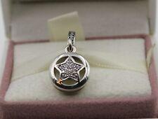 AUTHENTIC PANDORA Friendship Star Dangle, Enamel & Clear CZ 792148en23  #1057