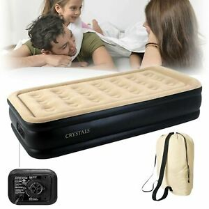 Inflatable High Raised Double Air Bed  7 Size Beds please choose the bed