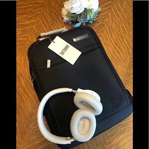 Hartmann Slim Black Metropolitan Backpack NWT