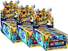 LEGO Nexo Knights 2 - Trading Cards - 3 Display (150 Booster) - Deutsch