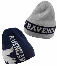 Official HARRY POTTER Ravenclaw Reversible Beanie Hat House Crest Men Women Teen