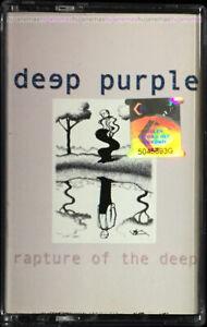 DEEP PURPLE Rapture Of The Deep 2005 MALAYSIA CASSETTE VERY RARE NEW SEALED