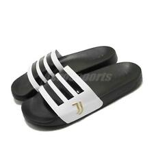 adidas Adilette Shower Juventus Black White Gold Men Sandal Slide Slipper FW7075