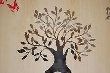 Spiegelwandtattoo Spiegelsticker Spiegelaufkleber Baum Wandtattoo